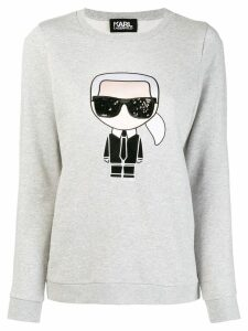 Karl Lagerfeld iconic Karl sweatshirt - Grey