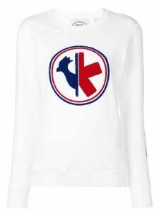 Rossignol logo sweatshirt - White