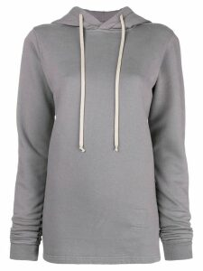 Rick Owens DRKSHDW hooded sweatshirt - Grey