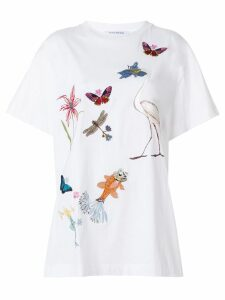 Vivetta Kitel Phard embroidered T-shirt - White
