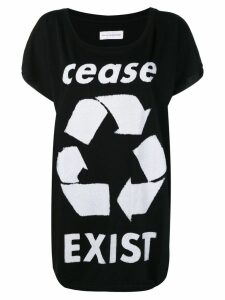 Faith Connexion Cease Exist T-shirt - Black