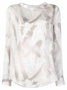 Lorena Antoniazzi printed shirt - White