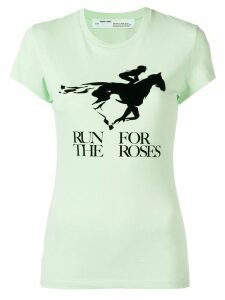 Off-White Run For The Roses T-shirt - Green
