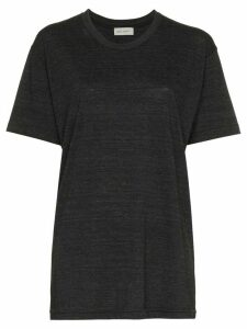 Beau Souci short sleeve cotton t-shirt - Grey