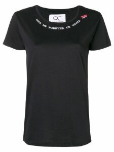 Quantum Courage Forever or Never T-shirt - Black