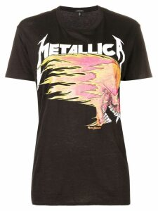 R13 Metallica T-shirt - Black