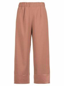 Olympiah Juanita panelled pantacourt trousers - PINK