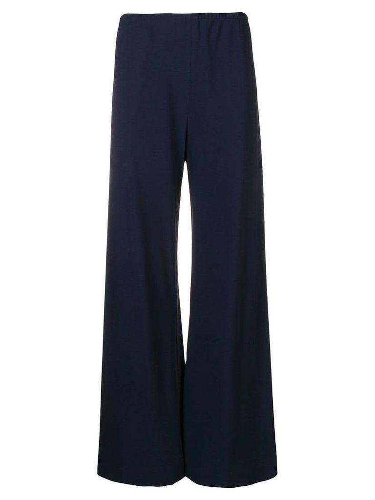 The Row drop waist trousers - Blue