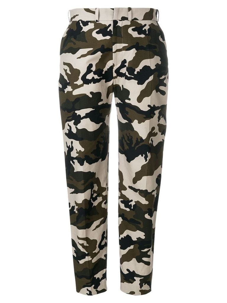 House Of Holland camouflage tailored trousers - Multicolour