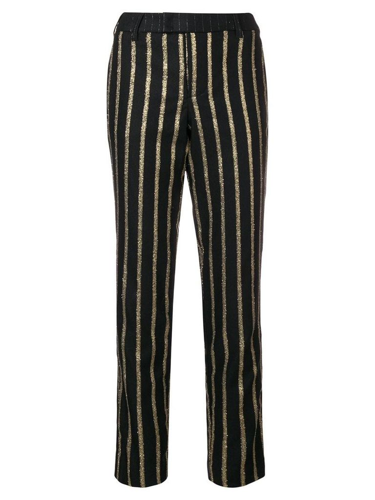 Zadig & Voltaire striped tailored trousers - Black