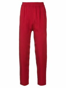 Layeur tapered trousers - Red G