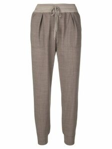 Lorena Antoniazzi tapered trousers - Brown