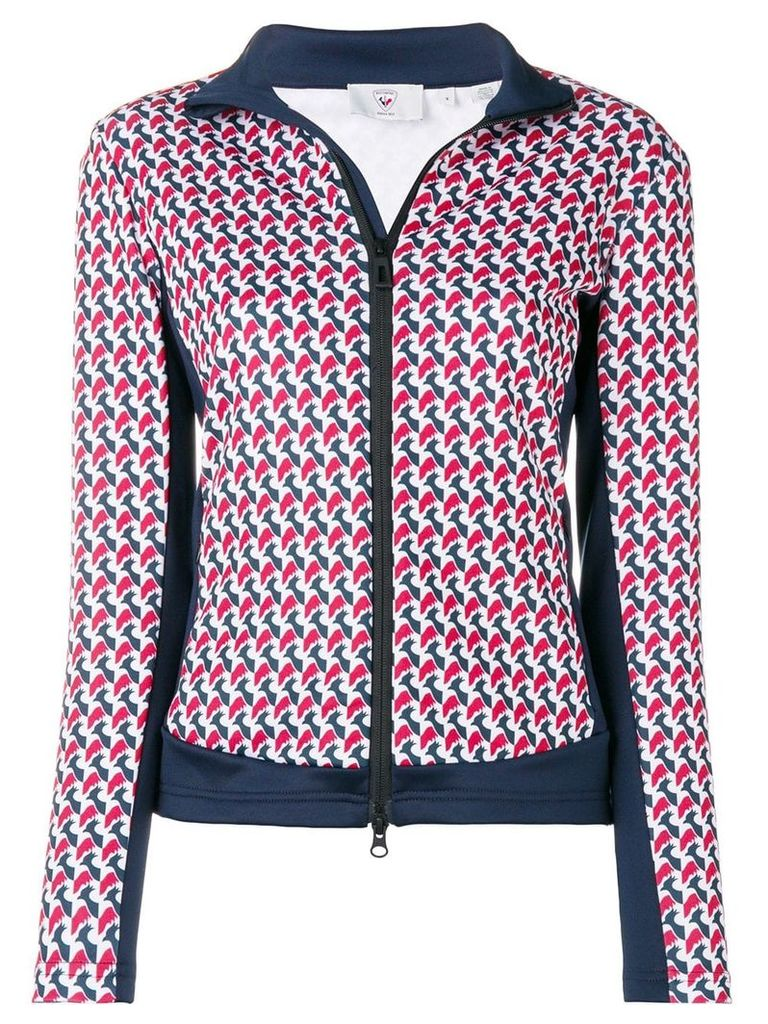 Rossignol printed zipped jacket - Red
