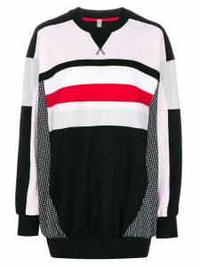 No Ka' Oi oversized colour block sweatshirt - Black