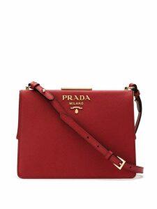 Prada Light frame crossbody bag - Red