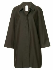 Chanel Pre-Owned long sleeve coat jacket - Green