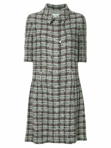 Chanel Pre-Owned short sleeve tweed one piece dress - Multicolour