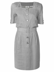 Valentino Pre-Owned belted dress - Grey