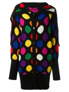 JC de Castelbajac Pre-Owned polka dot cardigan - Multicolour