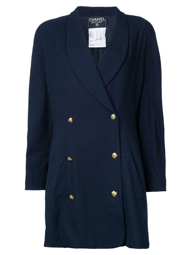 Chanel Vintage long sleeve jacket - Blue