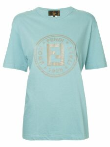 Fendi Pre-Owned Fendi short sleeve top - Blue