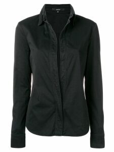 Gucci Pre-Owned 2000's concealed fastening shirt - Black