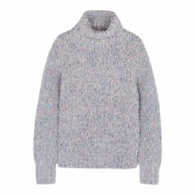 Moncler Roll-neck Alpaca-blend Jumper