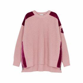 Moncler 1952 Pink Wool-blend Jumper