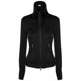 Moncler Maglia Black Jersey Sweatshirt