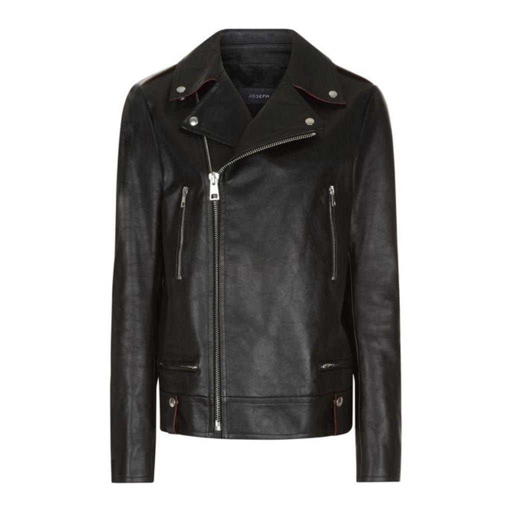Joseph Ryder Biker Leather Jacket