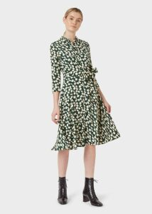 Passionflower Silk Blouse