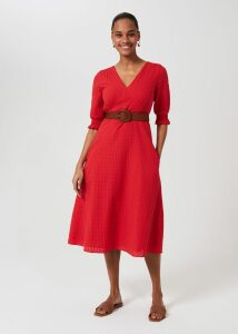 Mischa Roll Neck Red