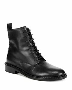 Vince Women's Cabria Leather Lace Up Boots