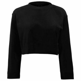USA Pro Velour Sweat Top Ladies - Black