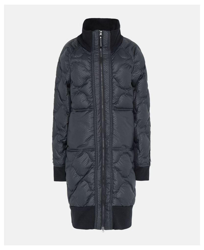 Stella McCartney Black Black Long Padded Jacket, Women's, Size L