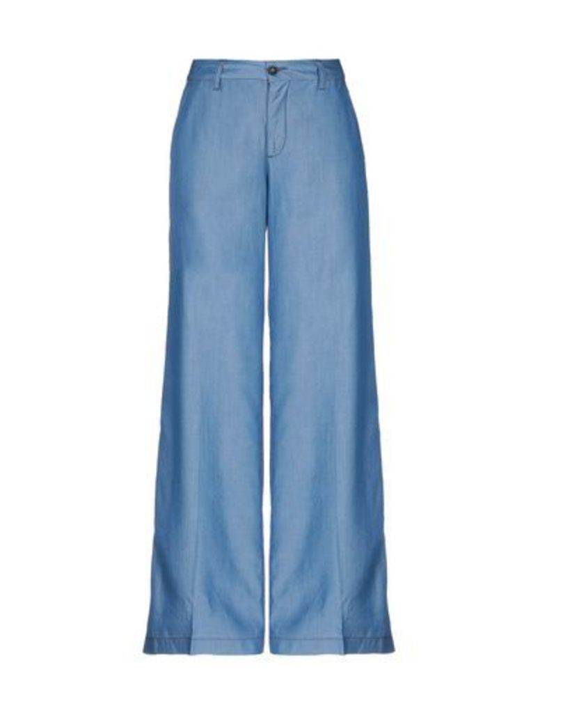 AVANTGAR DENIM by EUROPEAN CULTURE DENIM Denim trousers Women on YOOX.COM