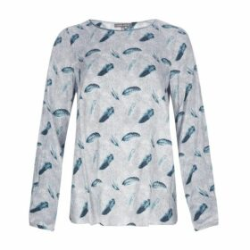 Dotty Feather Twill Top