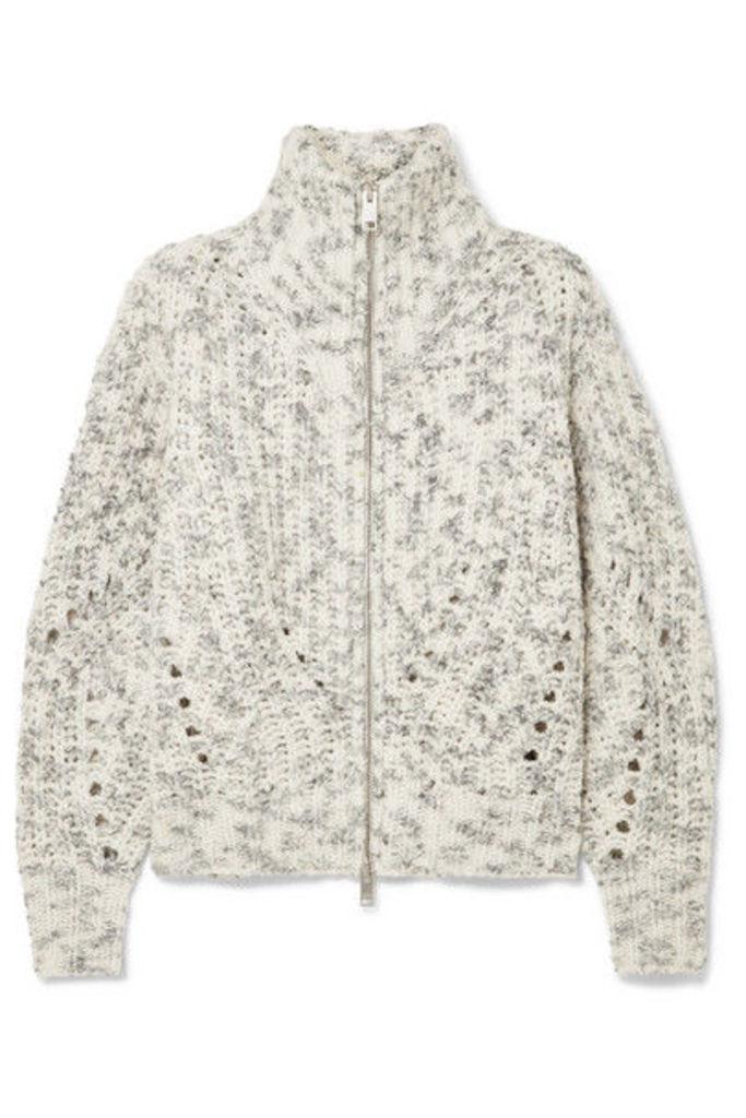 Isabel Marant - Janet Merino Wool Turtleneck Jacket - Ecru