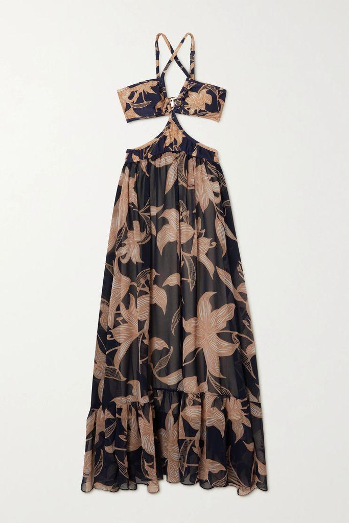 Balenciaga - Oversized Fleece Jacket - Navy