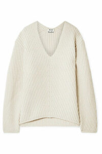 Acne Studios - Deborah Ribbed Wool Sweater - Beige