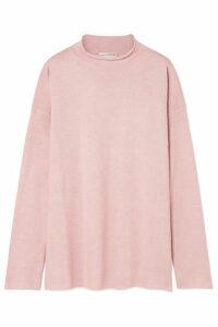 Mansur Gavriel - Alpaca And Silk-blend Sweater - Pink