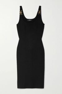 Alexander Wang - Crystal-embellished Wool-blend Sweater - Blush