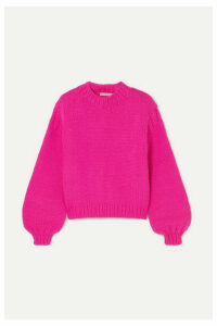 Ulla Johnson - Merino Wool Sweater - Fuchsia
