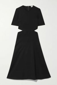 JW Anderson - Two-tone Ribbed-knit Turtleneck Sweater - Navy