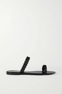 Balenciaga - Oversized Printed Striped Cotton-poplin Shirt - Blue