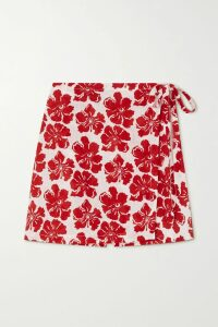 Prada - Printed Poplin Shirt - Black