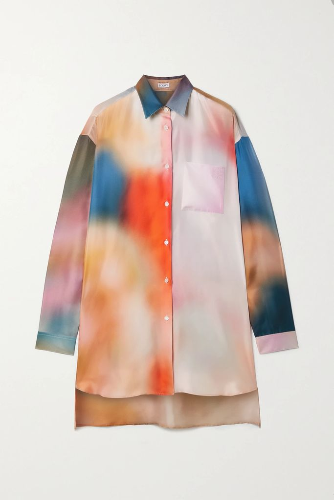 Akris - Belted Checked Wool Jacket - Brown