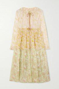 Akris - Belted Checked Wool Jacket - Brown