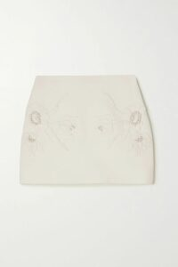 Dolce & Gabbana - Silk-blend Straight-leg Pants - Black