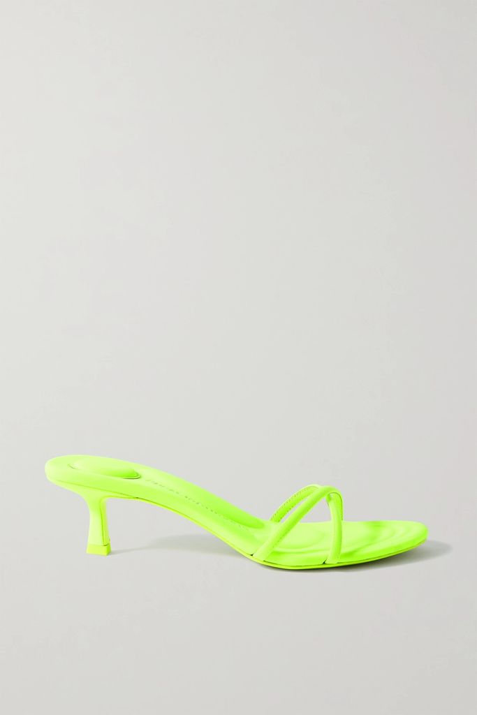 Miu Miu - Oversized Leather Jacket - Black